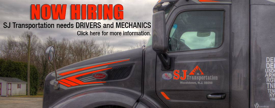 SJ Transportation is hiring drivers and mechanics