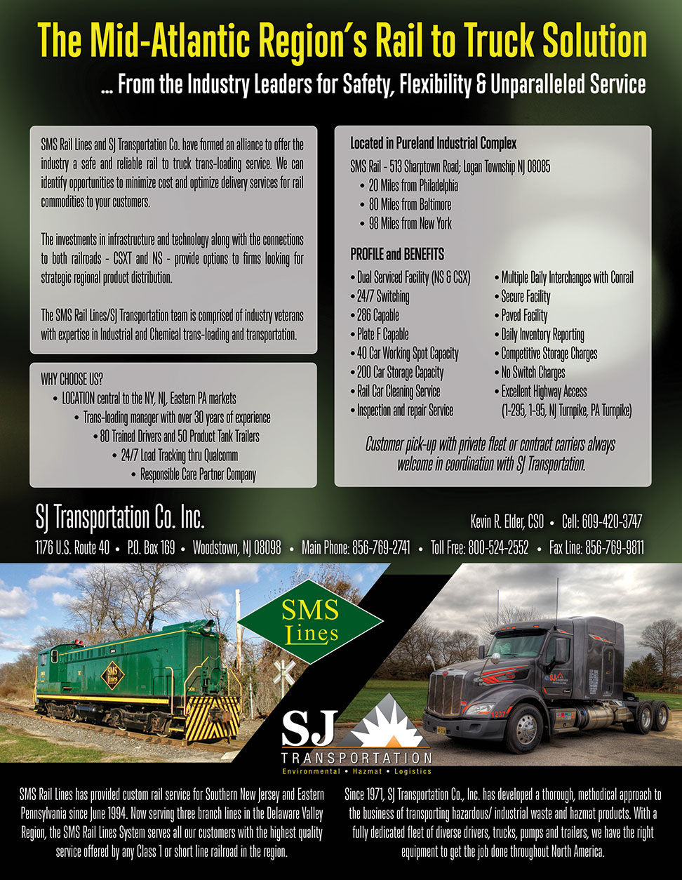 Rail Services (Dep ) | SJ Transportation