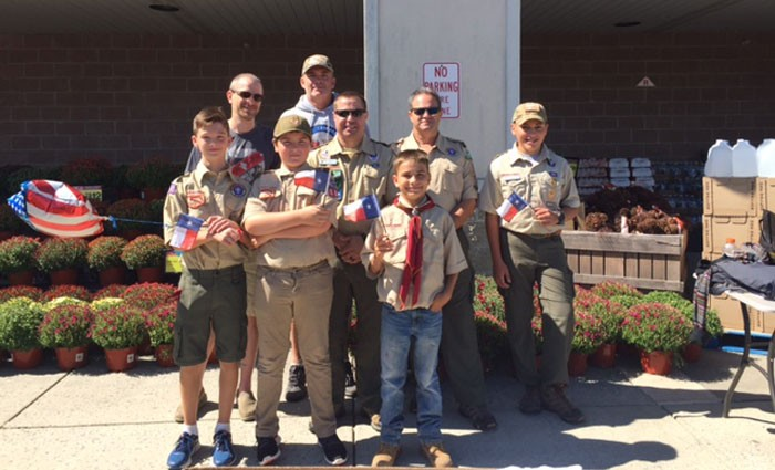 Scouts helped with Hurricane Harvey relief