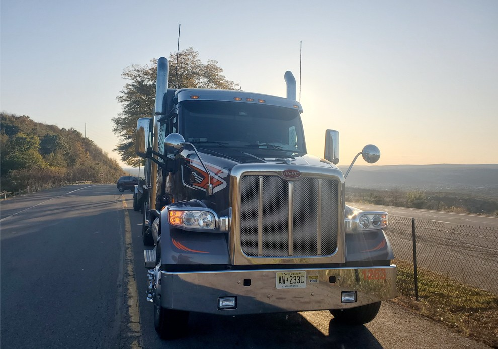 Morning truck photo by Ed Cooke