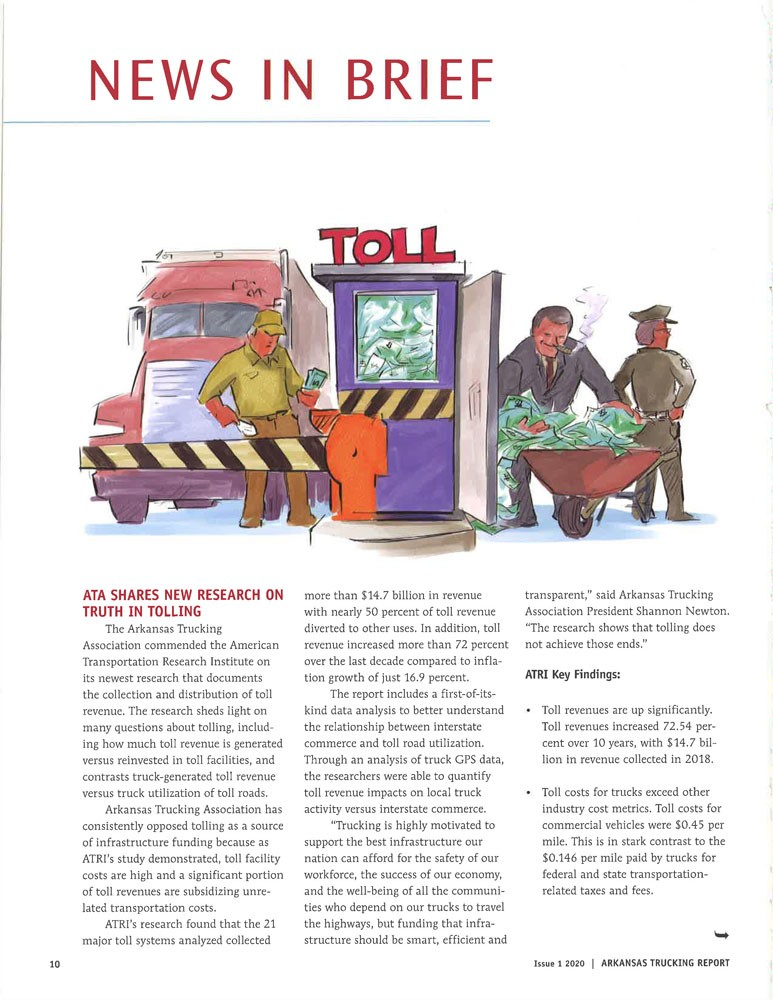 ATA shares new research on truth in tolling