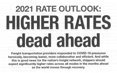 2021 Rate Outlook: Higher Rates Dead Ahead
